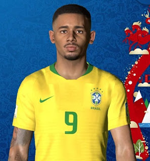 PES 2017 Faces Gabriel Jesus by Ben Hossam FaceMaker.