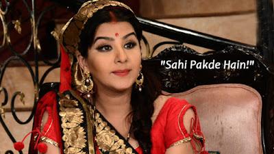 अभिनेत्री शिल्पा शिंदे एंड टीवी के सीरियल भाभी जी घर पर हैं के अंगूरी भाभी के रोल में आगामी एपीसोड में नज़र आएंगी