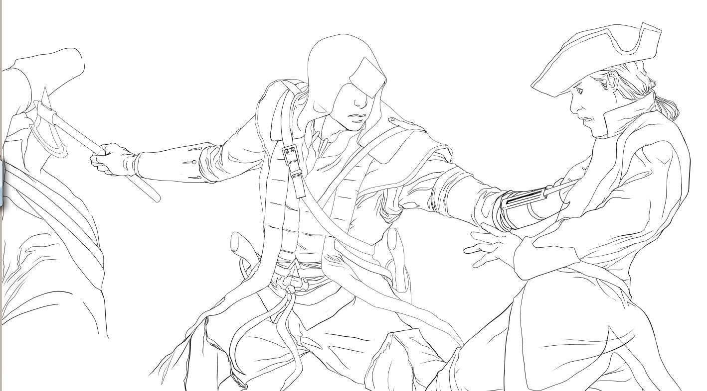 Murilo Araujo Assassins Creed Iii Sketch