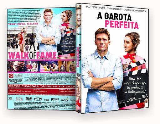 A GAROTA PERFEITA DVD-R – CAPA DVD