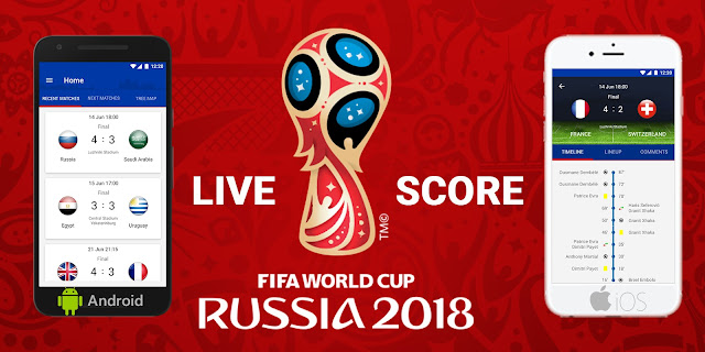 Live Scores world cup 2018