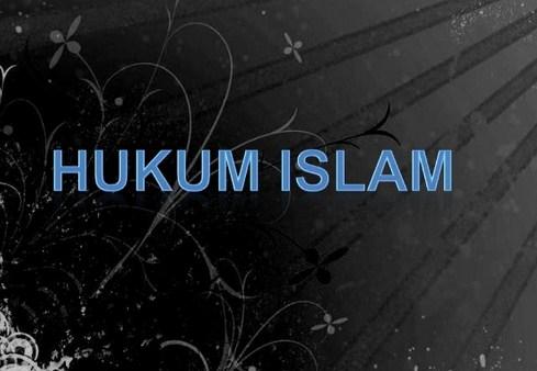 12 Istilah dan Kategori Hukum Islam