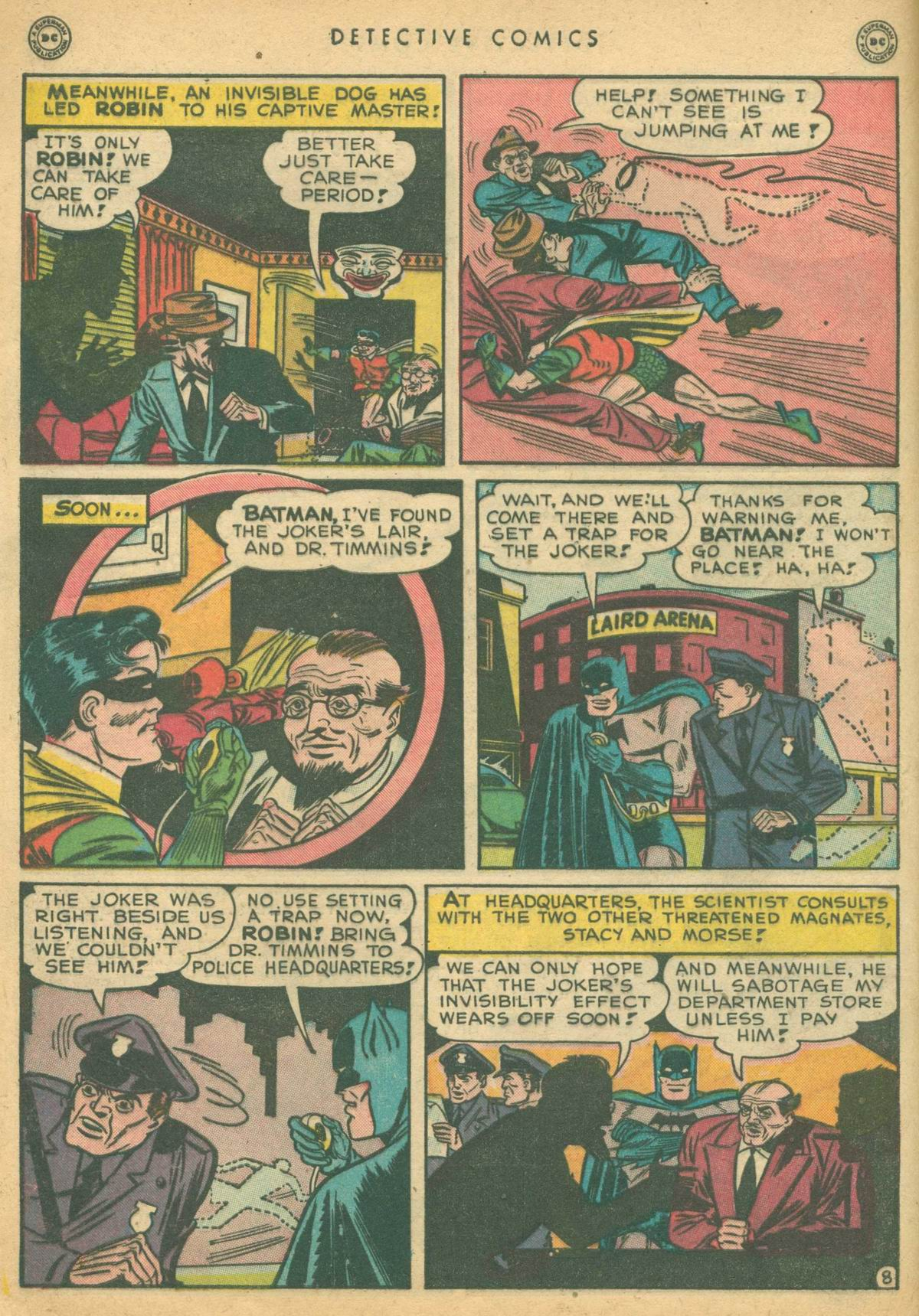Detective Comics (1937) 138 Page 9