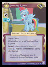My Little Pony Jousting Armor The Crystal Games CCG Card