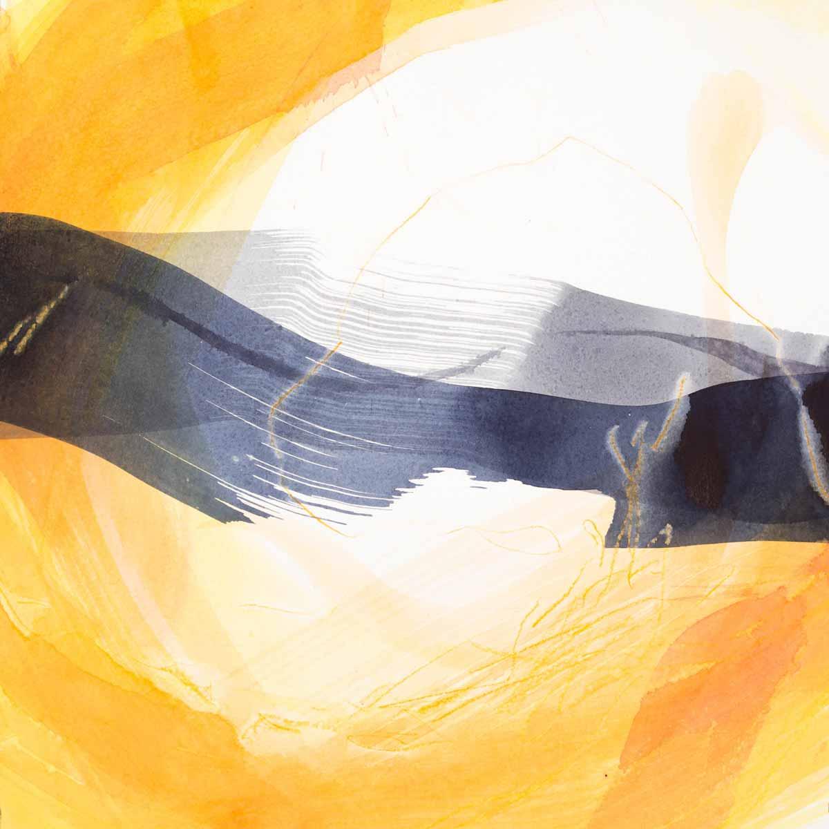 30 x 30 cm, aquarelle et crayons sur papier. 26 jan 14