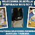 Una semana más, las Selecciones de Sevilla Preminibasket continúan con su Preparación de cara a la Fiesta Premini Andaluza