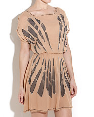 Beaded Art Deco Dress, New Look