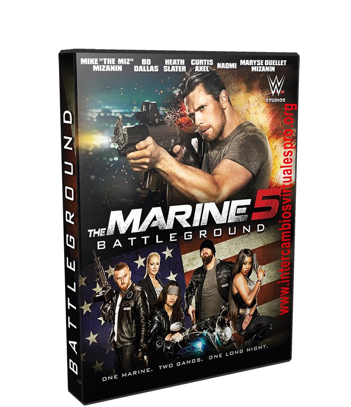The Marine 5 poster box cover