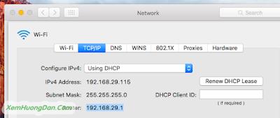 Tìm địa chỉ IP trên máy tính