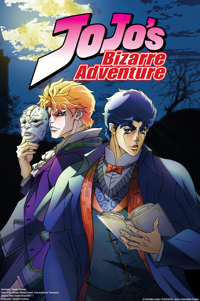 Jojo's Bizarre Adventure |26/26| |Castellano| |HD 720p| |Mega 2 Links|