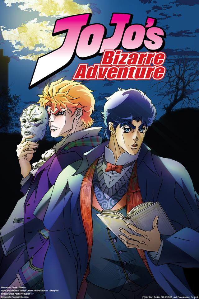 Jojo's Bizarre Adventure  26/26   Castellano   HD 720p   Mega 2 Links 