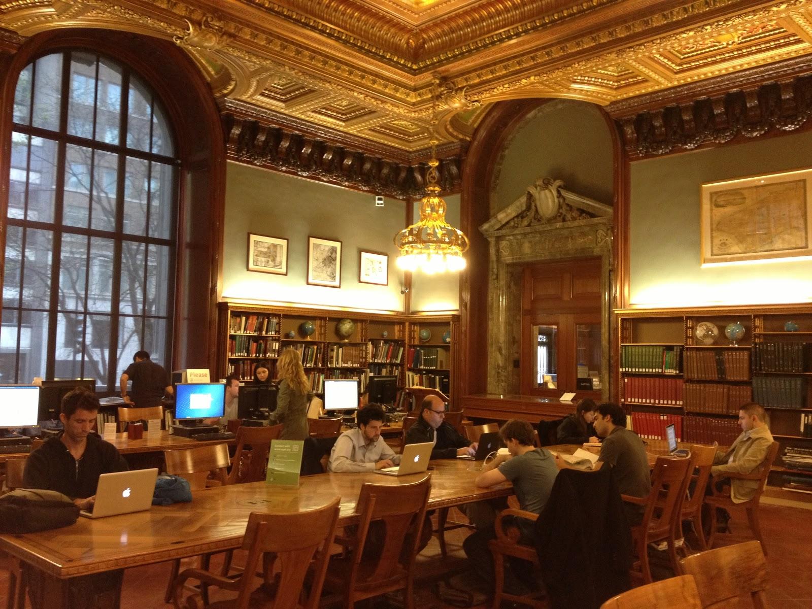Sindoe's NYC : 29/4/13 – New York Public Library and Robert