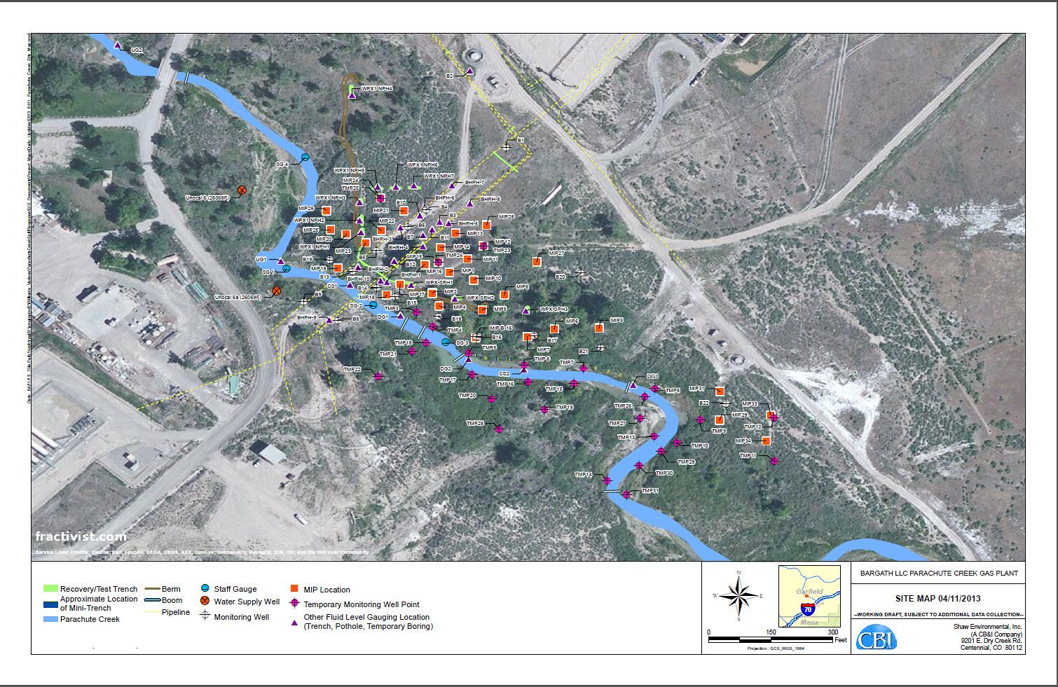FRACTIVIST  Assist Reform and Protect Parachute Creek Colorado