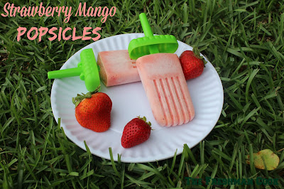 strawberry, mango, fruit, fruit pops, popsicles