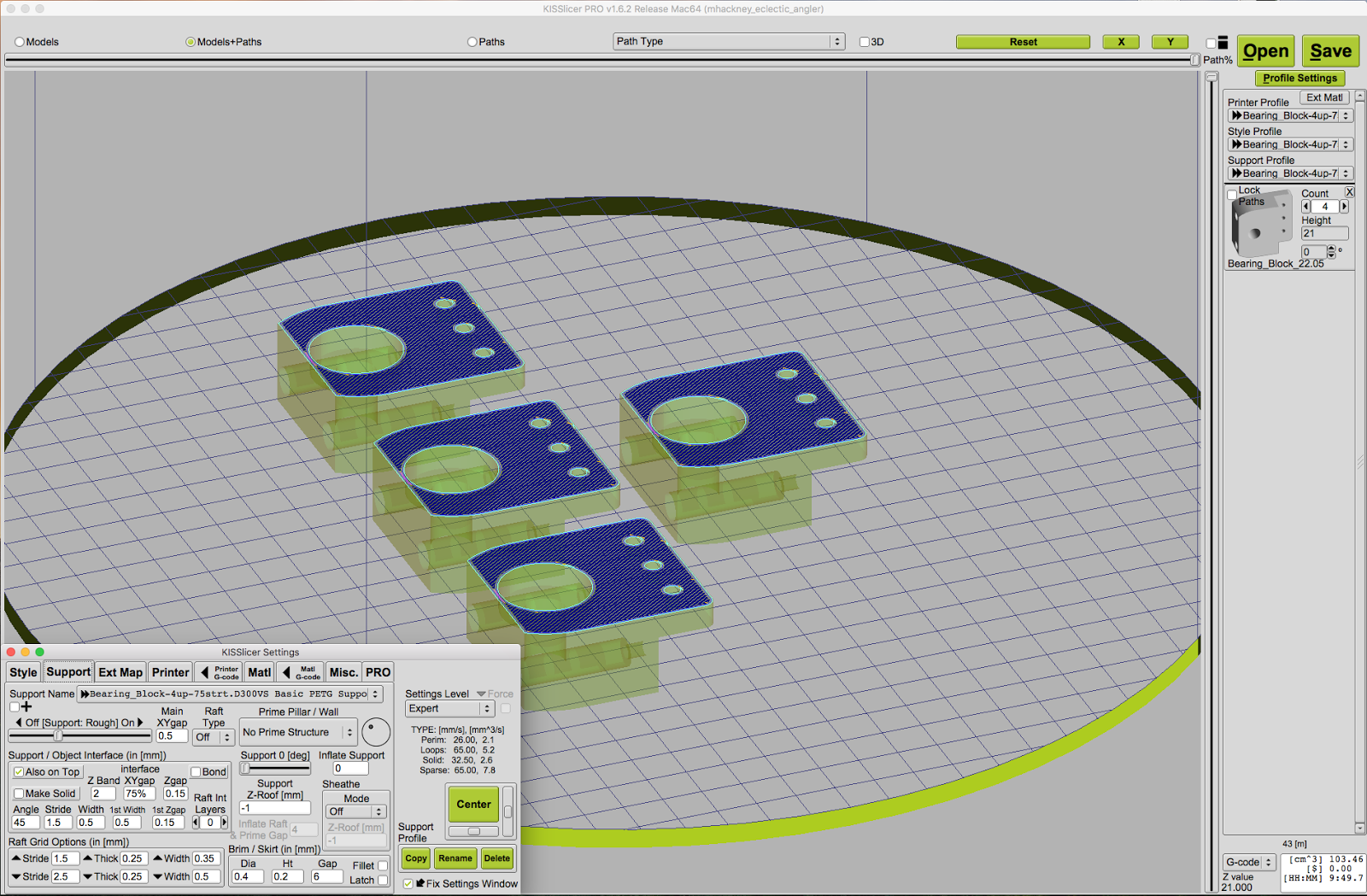slic3r prusa edition support settings