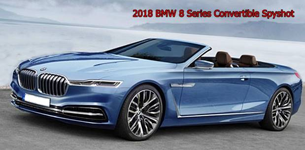 2018 BMW 8 Series Convertible Spyshot