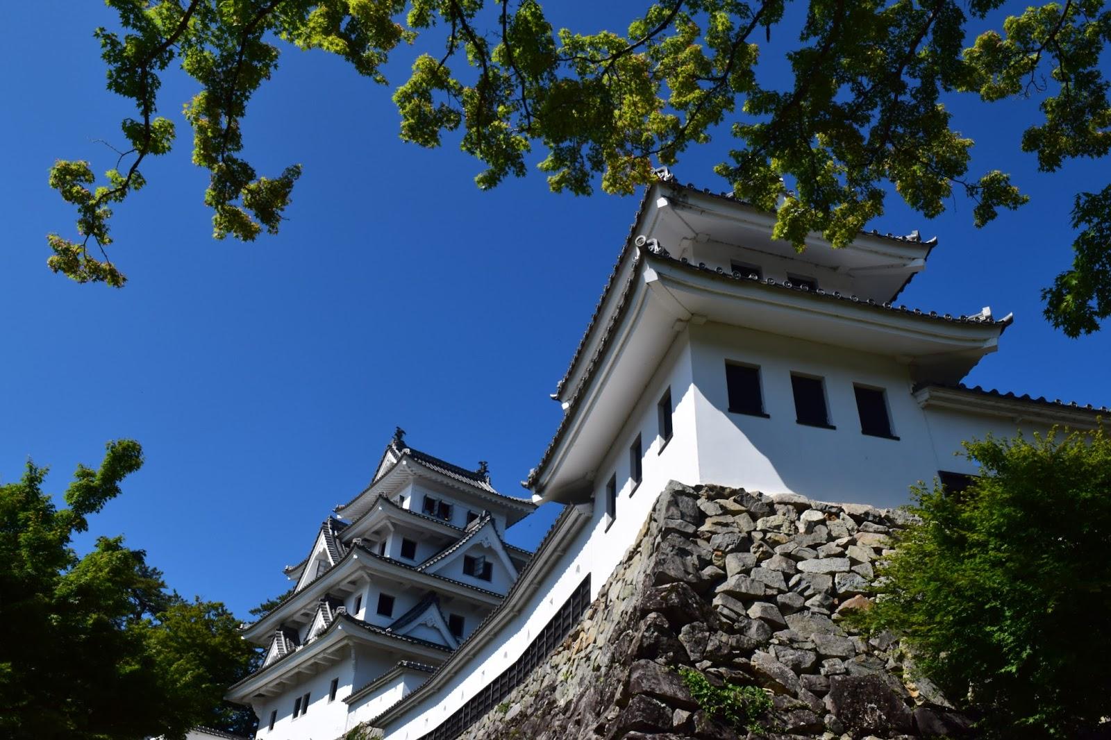 Japanese castle Nagano