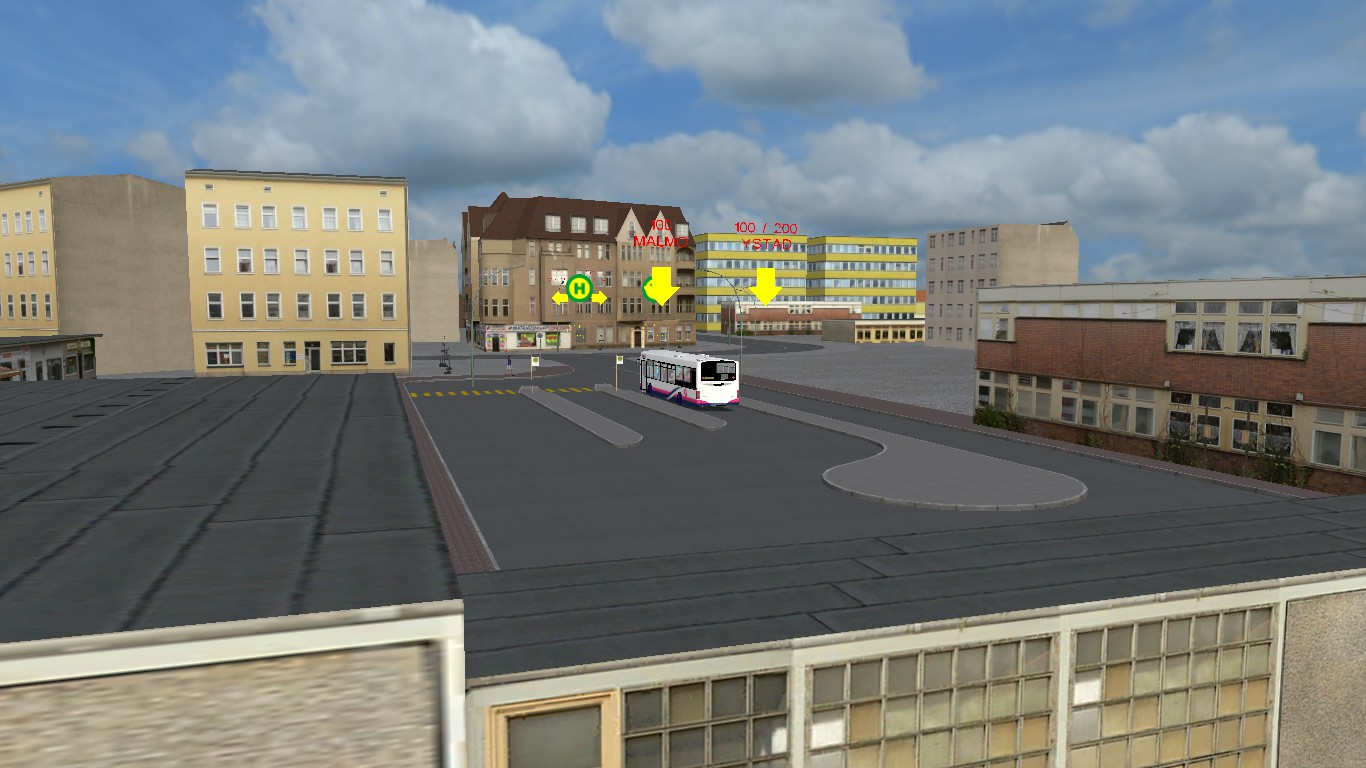 Ystad - Malmo Left Path RELEASED!!   OMSI 2 ETS2 and more blog