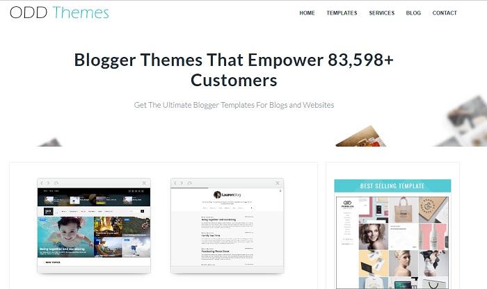 plantillas para blogger gratis odd themes