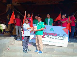 Bersama Bawaslu, Ansor Lombok Tengah Deklarasikan Pilkada Damai dan Bermartabat