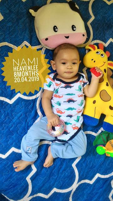Nami Heavenlee || Jurnal 8 bulan - sembelit lagi & baby belajar duduk
