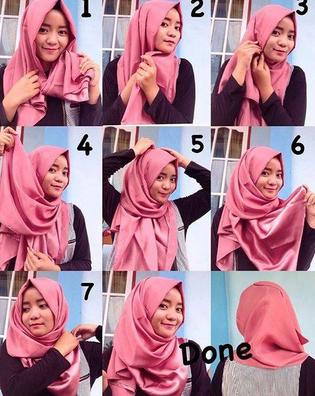 Style Hijab Anak Muda Simple Pashmina