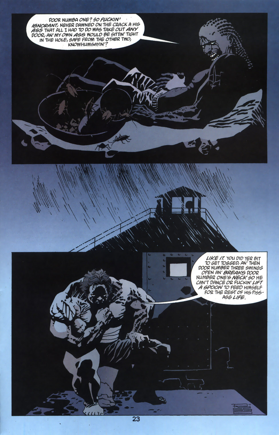 Read online 100 Bullets comic -  Issue #46 - 24
