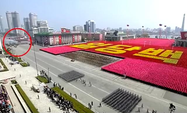 دبابة تحترق في حضرة زعيم كوريا الشمالية شاهد ماذا حصل بالفيديو