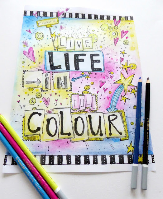 mit Strich und Faden: Live Life in Full Colour