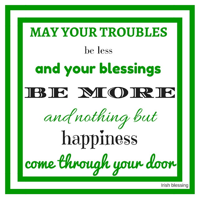 st. patrick's day quotes, irish blessing