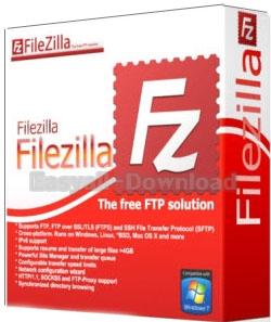 FileZilla 3.24.0 Final / Server 0.9.59 โปรแกรมสำหรับเคลื่อนย้ายไฟล์ระหว่างเครื่องของเรากับ server