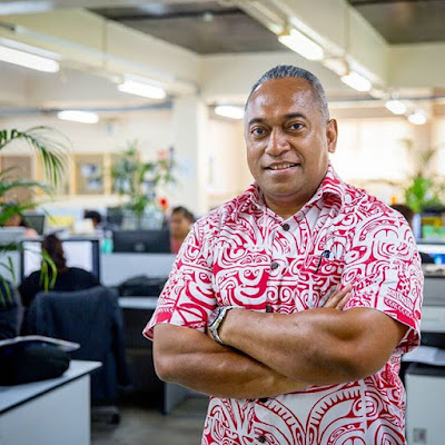 Fiji Times Editor-in-Chief, Fred Wesley