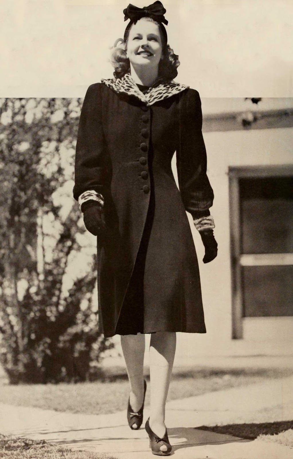 Mrs. Button's Vintage Corner: 1940s Winter Fashion Inspiration
