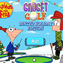 Golf Extraordinario  Phineas y Ferb edicion invierno