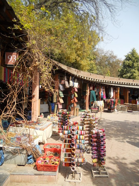 Delhi in 3 days: Dilli Haat arts and crafts market