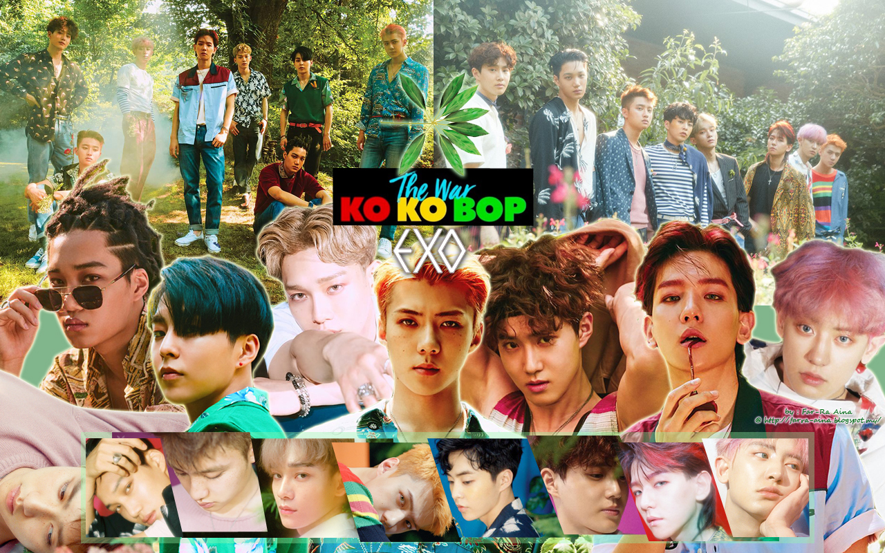 K Pop Lover Exo The War Ko Ko Bop Wallpaper