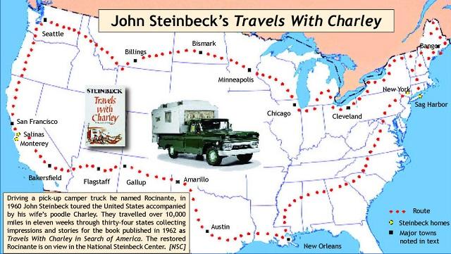 Ruta autocaravanista de John Steinbeck