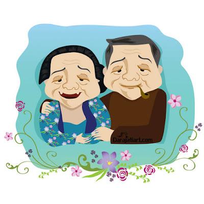 kakek nenek