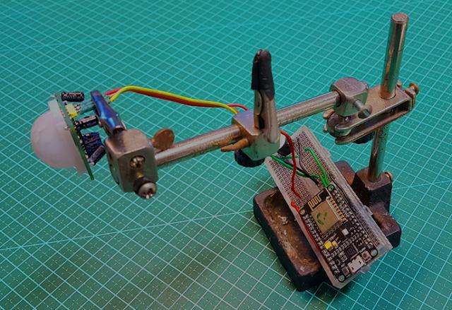 Sensor de presença com NodeMCU ESP8266