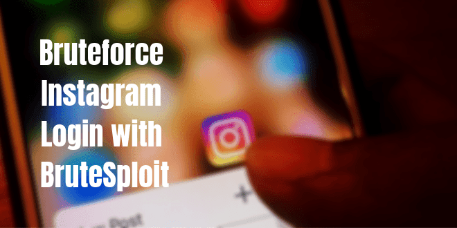 Bruteforce Instagram login with BruteSploit | Kali Linux