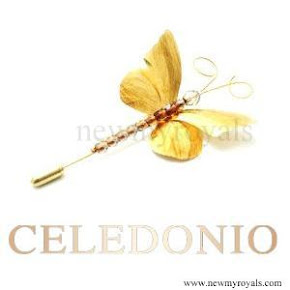 Queen Maxima style CELEDONIO Brooches