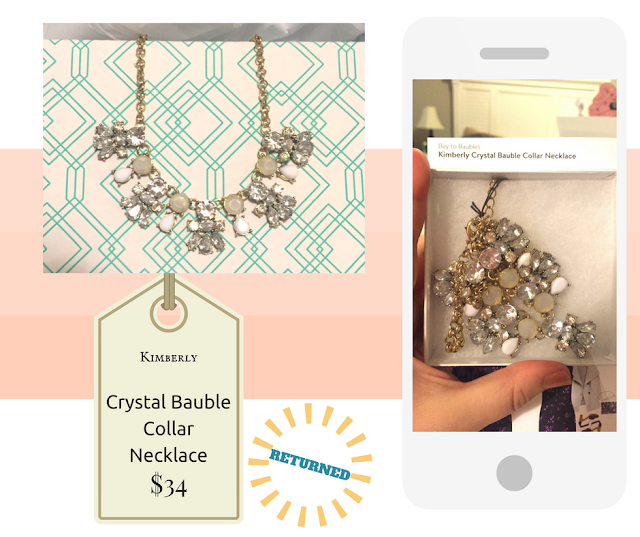 Kimberly Crystal Bauble Collar Necklace