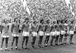 Oranje voor de WK-finale van 1974 (Bron: Nationaal Archief)