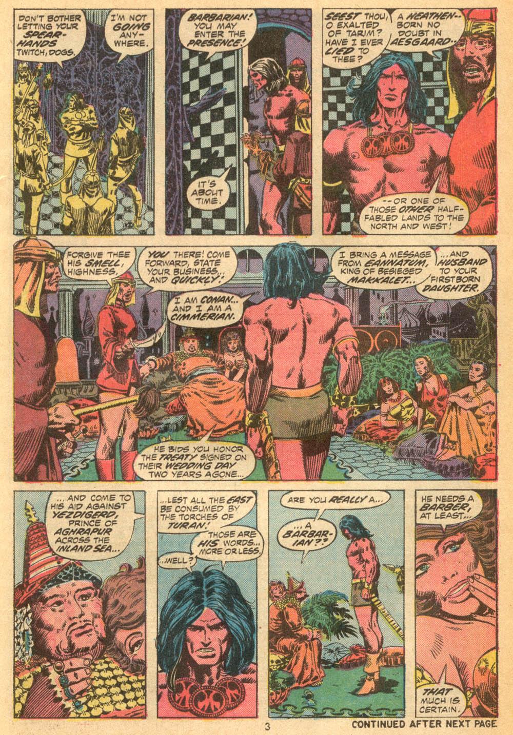 Conan the Barbarian (1970) Issue #23 #35 - English 4