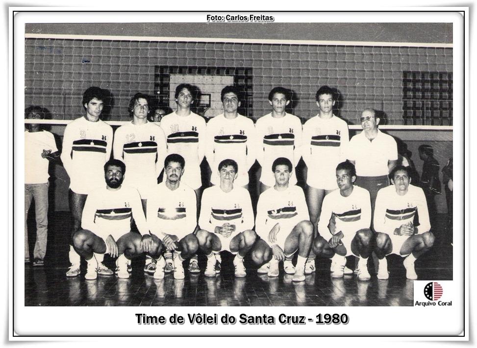 042ad6994e Em 1980 o Santa Cruz participou do Campeonato Brasileiro de Vôlei – o  correspondente da atual Liga Nacional - realizado na cidade de Manaus.