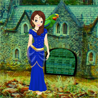Games2Rule Girl Rescue From Forest Castle