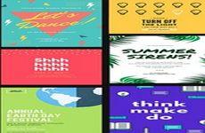 Desyne: app que permite crear folletos, carteles publicitarios, posters, tarjetas de felicitación, etc. (iOS)