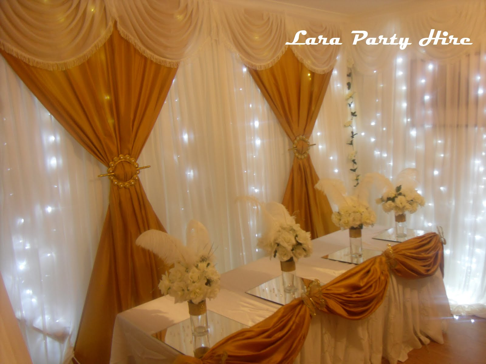Fairy-lights Backdrop €150