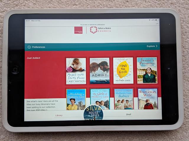 free audio books ebooks Libby App library Telford