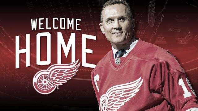 HOCKEY HIELO - Steve Yzerman vuelve a casa como nuevo General Manager de los Detroit Red Wings